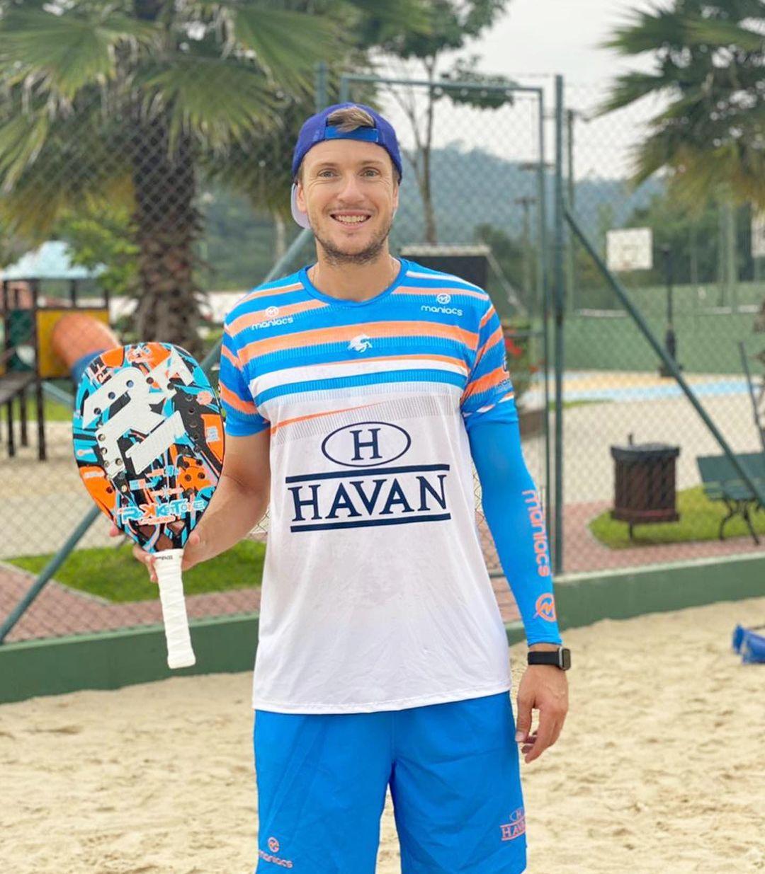 André Baran participa de competição nos Emirados Árabes Unidos