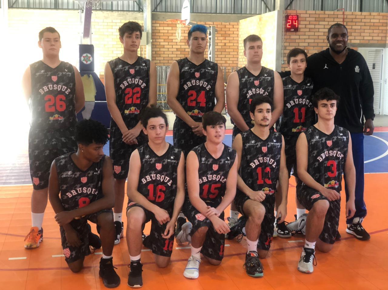 Equipe estreia com vitória na Copa Santa Catarina de Basquete Sub-16