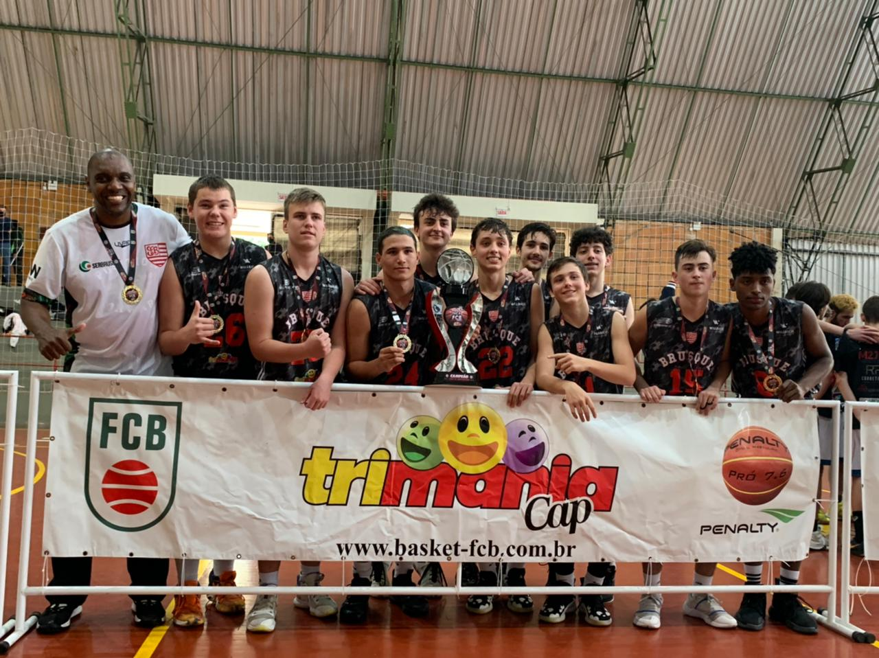 Equipe de Brusque é campeã da Taça Santa Catarina de Basquete Sub-16